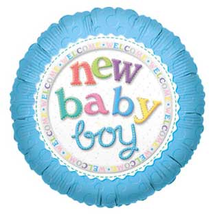 39 - Baby Boy Balloon