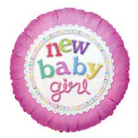 38 - Baby Girl Balloon