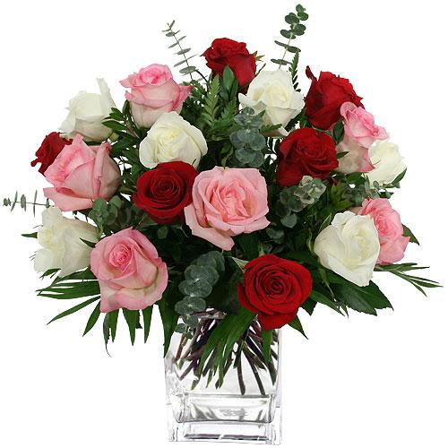 2070 - Mixed Roses