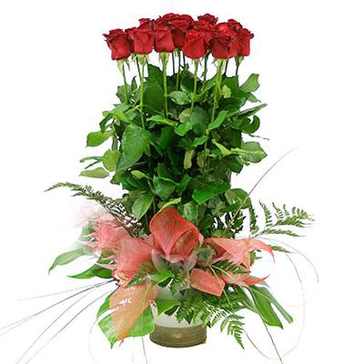 2066 - Red Roses Arrangement